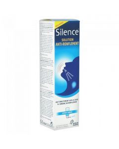 Omega Pharma Silence Solution Anti-ronflement Aérosol Buccal 50ml