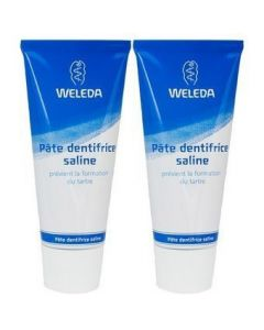 Weleda Pâte Dentifrice Saline Duo 75ml