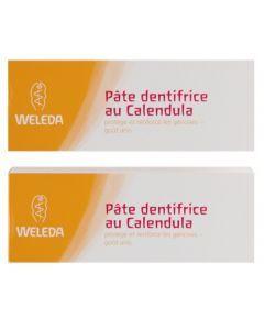 Weleda Pâte Dentifrice au Calendula Duo 75ml