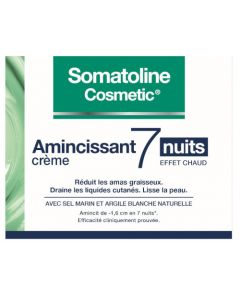 Somatoline Cosmetic Amincissant 7 Nuits Crème Effet Chaud 400ml