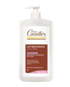 Rogé Cavaillès Lait Bain Douche Lait de Figue l'Hydratant Surgras Actif 1L