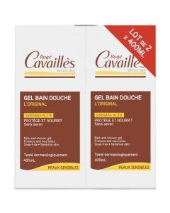 Rogé Cavaillès Gel Bain Douche l'Original Surgras Actif 2x400ml