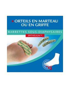 Epitact Orteils en Marteau Ou en Griffe Barrette Sous Diaphysaires Femme X 2