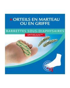 Epitact Orteils en Marteau Ou en Griffe Barrette Sous Diaphysaires Homme X 2