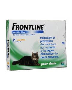 Frontline Spot-on Chat 6 Pipettes