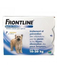 Frontline Spot-on Antiparasitaire Chiens de 10 à 20kg 4 Pipette