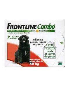 Frontline Combo Pour Chien de 40 à 60kg 6 Pipettes