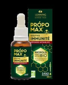 Lehning Própomax Gouttes Immunité Sans Alcool 30 ml