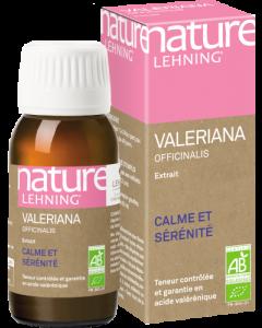 Nature Lehning Valeriana Officinalis (Valériane Officinale) Bio 60 ml