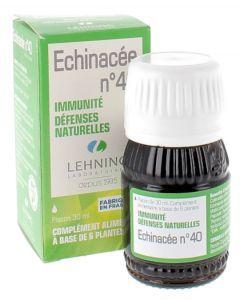 Lehning Complexe Echinacée N°40 Solution Buvable 30ml