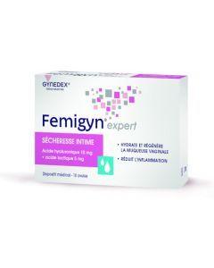 Gynedex Femigyn Expert Sécheresse Intime 10 ovules