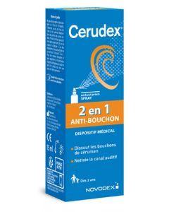 Novodex Cerudex 2en1 Anti Bouchon Spray 15ml