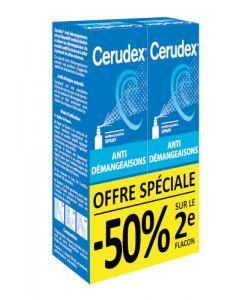 Novodex Cerudex Anti Démangeaisons Lot 1+2ème à -50% 2x20ml