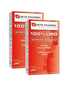 Forté Pharma 100% Lipo 30 Gélules X2