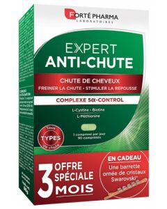 Forté Pharma Expert Anti-Chute 90 Comprimés + Barrette Swarovski Offerte