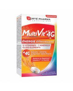 Forté Pharma Multivit'4G Énergie Effervescent 30 Comprimés