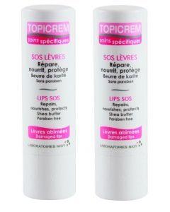 Topicream Sos Lèvres 5g X2