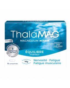 Thalamag Équilibre Intérieur LP Magnésium Marin 15 comprimés