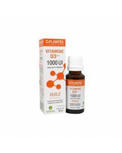 D.Plantes Vitamines D3++ 1000 UI Huile 20ml