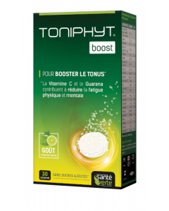 Santé Verte Toniphyt Boost Effervescent Citron Vert-Menthe 30 comprimés