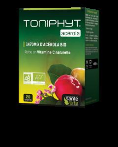 Santé Verte Toniphyt Acérola Bio 20 Comprimés