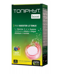 Santé Verte Toniphyt Effervescent Fruits Rouges 30 comprimés