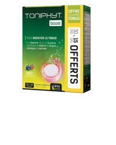Santé Verte Toniphyt Boost Fruits Rouges Lot 30 Comprimés Effervescents+ 15 Offerts