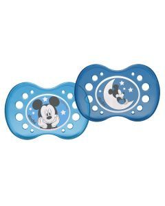 Dodie Sucette anatomique +18 mois Duo Disney Nuit Mickey A75