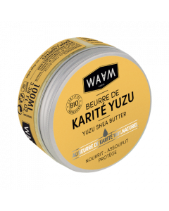 WAAM Beurre Karite Brut au Yuzu 100ml