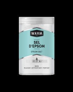 WAAM Sels d'Epsom Sulfate de Magnésium 400g