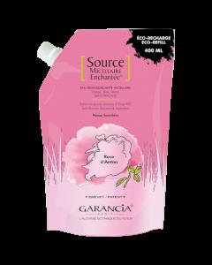 Garancia Source Micellaire Enchantée Eau Démaquillante Rose d'Antan Recharge 400ml