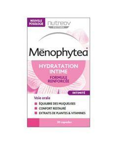 Menophytea Hydratation Intime Formule Renforcée Boite de 30 Capsules