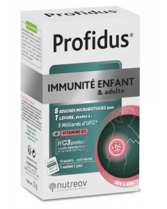 Nutreov Profidus Immunité Enfant & Adulte 10 Sachets