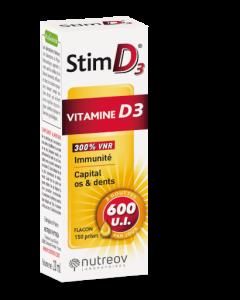 Nutreov Stim D3 Vitamine D3 Flacon 20ml