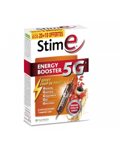 Nutreov Stim E Energy Booster 5G 20 + 10 Ampoules Offertes