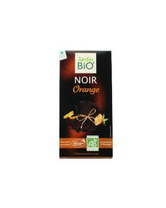 Jardin Bio Tablette Chocolat Noir Orange 100g