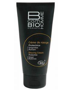 B Com Bio Homme Crème de Rasage Protectrice 100ml