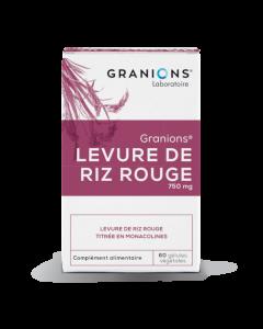 Granions Levure Riz Rouge 60 Gélules