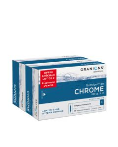 Granions Chrome 200 Lot de 2x30 Ampoules