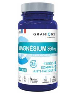 Granions Magnésium 360mg 60 Comprimés