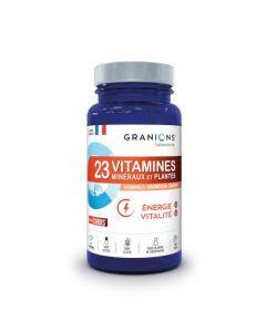 Granions ® 23 Vitamines Energie & Vitalité 90 comprimés
