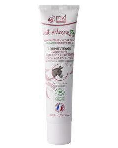 Mkl Green Nature Lait d'Ânesse Crème Visage Anti-Âge  40 ml