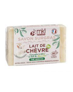 Mkl Green Nature Savon Surgras au Lait de Chèvre Thé Sencha 100 g