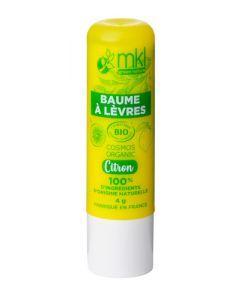 Mkl Green Nature Baume À Lèvres Bio Citron 4 g
