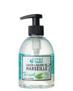 Mkl Green Nature Savon Liquide Marseille Bio Thé Vert 300 ml
