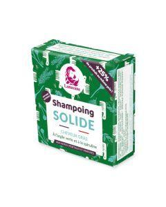 Lamazuna Shampoing Solide Cheveux Gras à L'Argile Verte et à La Spiruline Sans He 70g