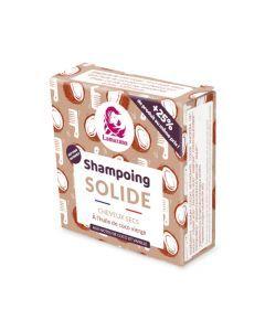 Lamazuna Shampoing Solide Cheveux Secs à L'Huile de Coco Vierge Sans He 70g