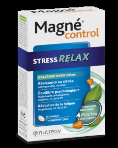 Nutreov Magné Control Stress Relax 30 Comprimés