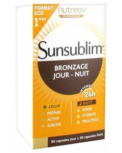Sunsublim bronzage Jour-Nuit 30 capsules jour + 30 capsules nuit