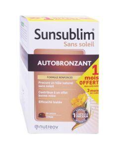 Sunsublim sans Soleil Autobronzant 84 capsules